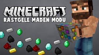 RASTGELE MADEN MODU (Yeni İntro) + Süper Seed | Minecraft Mod Tanıtımları #20