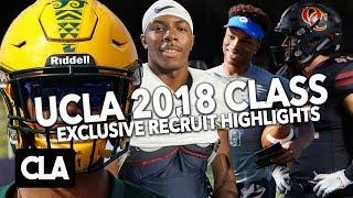 UCLA RECRUIT HIGHLIGHTS // UCLA 2018 Football Recruit Class Mixtape feat. DTR, Bryan Addison +