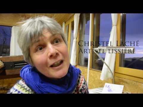 Tapisserie contemporaine de Basse Lisse - Christel LACHE,