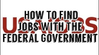 How to Find a Job with the Federal Government, USAJobs, Accounting Degree Jobs