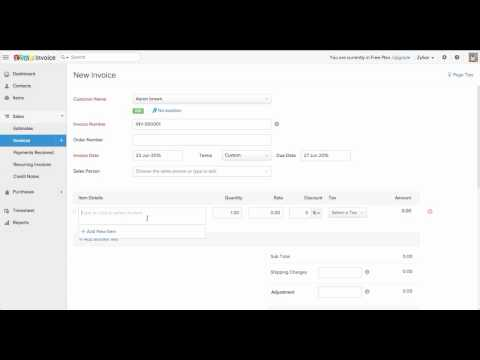Zoho Invoice Pricing, Features, Ratings and Reviews in 2019