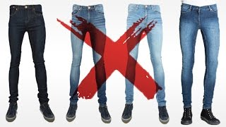 7 Reasons I HATE Skinny Jeans | Why YOU Should Avoid Mens Skinny Jeans