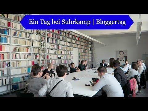 Ein Tag bei Suhrkamp | Bloggertag Vlog