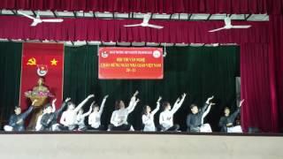 """Múa """"Thư Pháp"""" CHUNG KẾT Lớp 12A4 Trường THPT Nguyễn Thị Minh Khai"""