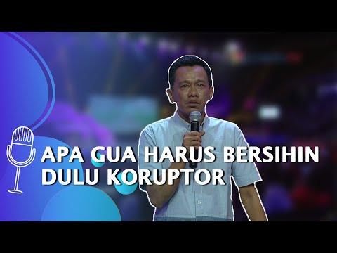 stand up comedy rachman apa gua harus ngebersihin koruptor dulu di negeri ini - suci