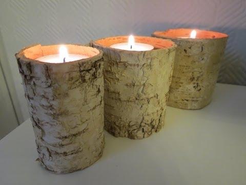 Kerzenhalter selber machen * einfach, schnell & günstig