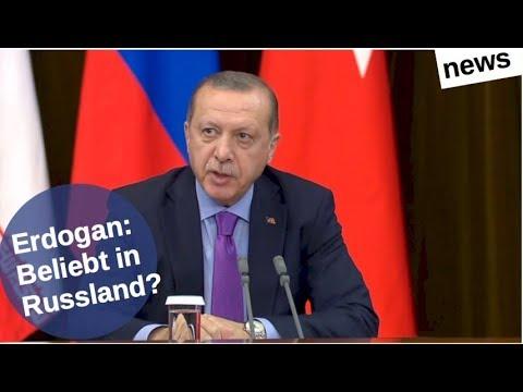 Erdogan: In Russland beliebt? [Video]