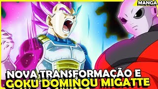 VEGETA CONSEGUE NOVA TRANSFORMAÇÃO, GOKU DOMINOU O MIGATTE NO GOKUI? Analise Manga 40 DBS