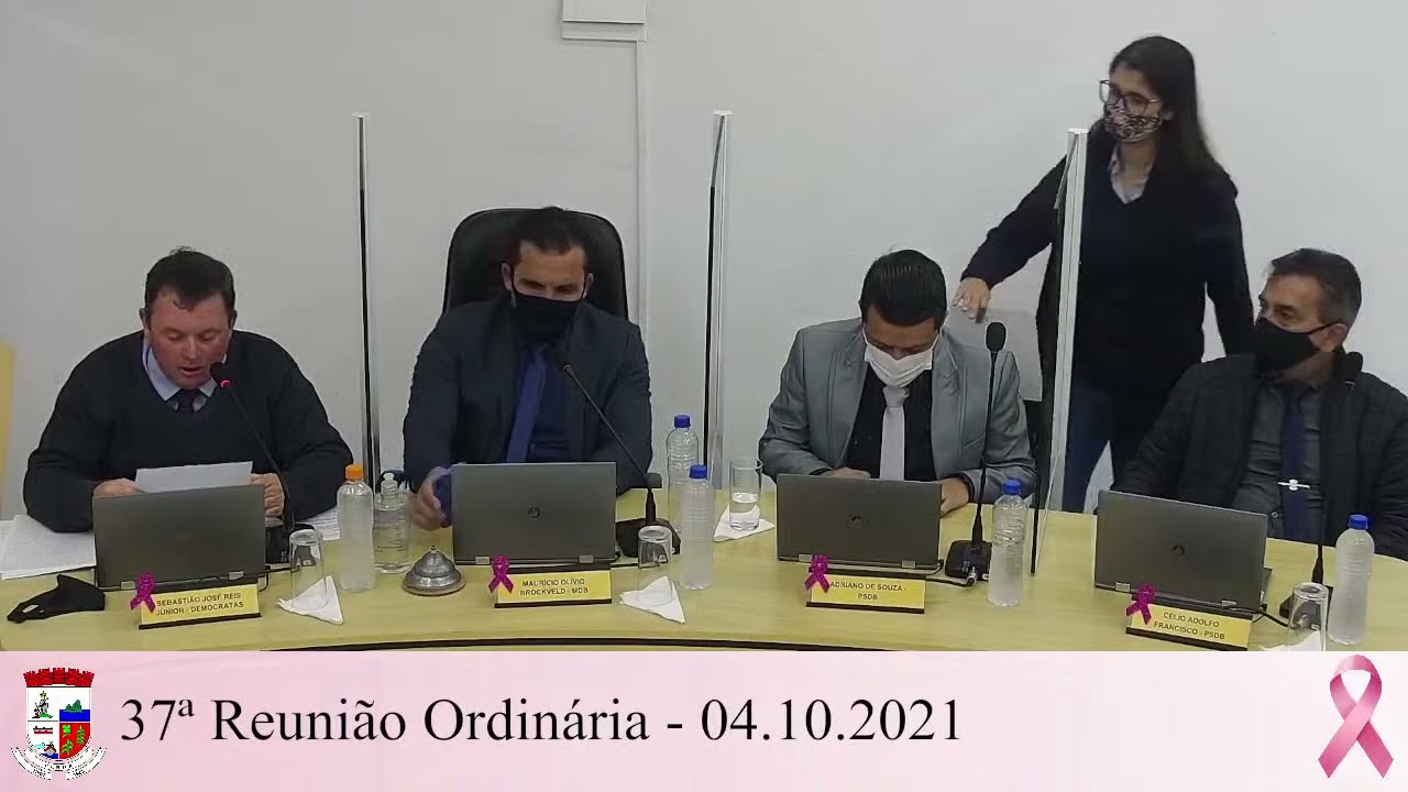 37ª Reunião Ordinária - 04/10/2021