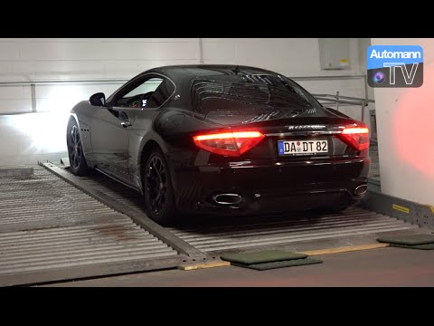 Maserati GranTurismo (405hp) - pure SOUND (60FPS)