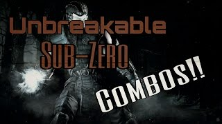 Mortal Kombat X: Unbreakable Sub-Zero Combos