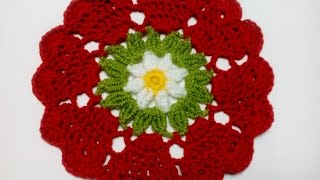 Салфетка СЕРДЕЧКИ Crochet doily HEARTS