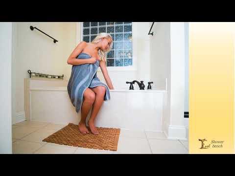 Best teak shower mat