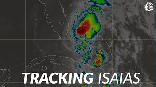 Tropical Storm Isaias closing in on Florida