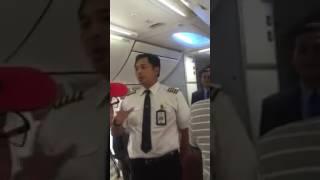 Penumpang Garuda Menolak Terbang Setelah Mesin Pesawat Mati?