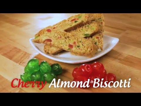 Cherry Almond Biscotti