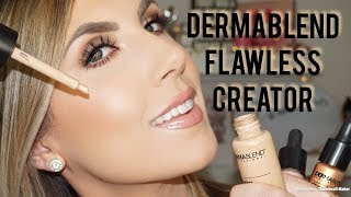NEW! DERMABLEND FLAWLESS CREATOR | FOUNDATION & HIGHLIGHT REVIEW | Kholo.pk