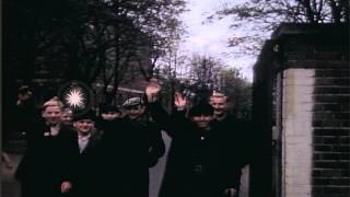 Huge numbers of European soldiers liberated from a German prison camp in World Wa...HD Stock Footage