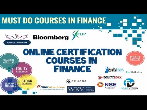 Top Certification Courses In Finance | MBA | CV Boosters | Financial ...