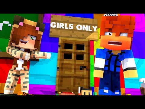 Making a SECRET GIRL CLUB in the DAYCARE !? - Daycare (Minecraft Roleplay)