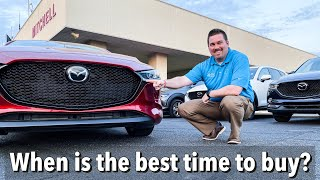 When is the Best Time To Buy a New Car with Jonathan Sewell Sells at Mitchell Mazda