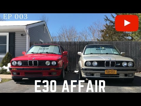 1991 BMW 318is  Aftermarket steering wheel installation  || EP 003