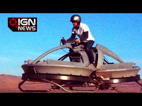 Real Hoverbike Goes On Sale in 2017