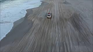 Bribie Island QLD, 4x4 4wd, Hyundai Terracan, DJI Phantom 3 Drone Footage