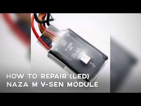 how-to-fix-burn-led-naza-m-vsen-module