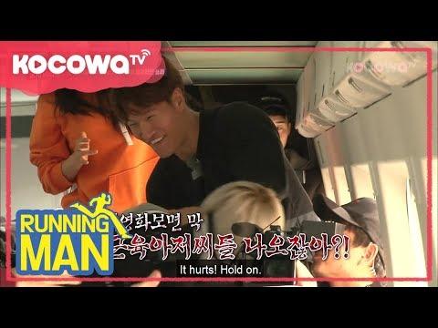 Jongkook Surviving in Zombie train [Running Man Ep 383]