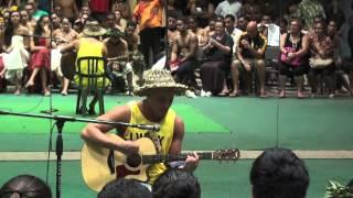 2009 Australian Idol Winner Stan Walker performs for the Ha: Breath of Life Cast