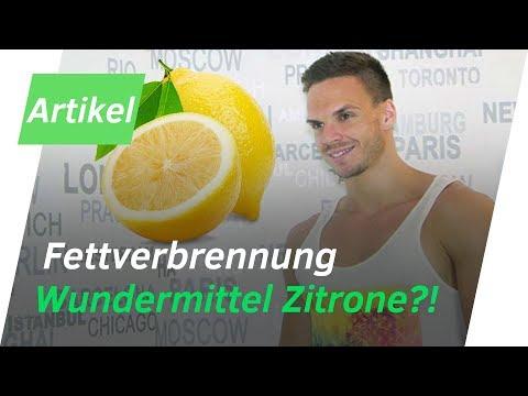 Natürlicher Fettburner - ZITRONE | schnell Fett verbrennen | Andiletics
