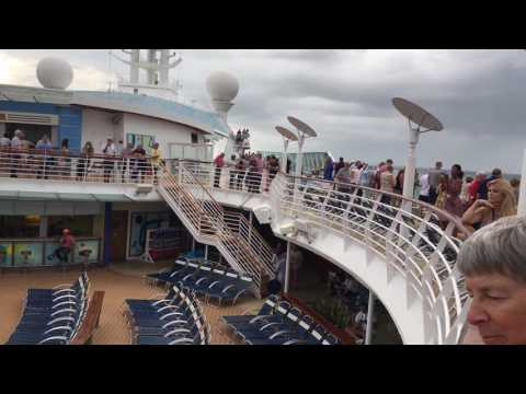 Jewel of the Seas April 2017 Transatlantic Cruise Part 1