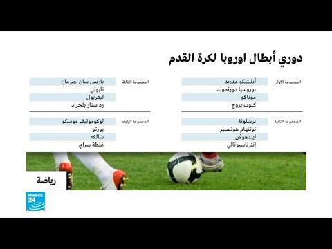 العرب اليوم - شاهد: قرعة دوري أبطال أوروبا لكرة القدم