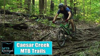 Caesar Creek State Park Mountain Bike Trail Review by MTB Cincinnati