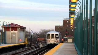 preview picture of video 'Rockaway Park Shuttle at Beach 90th street (2012)'
