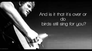 Autumn Leaves - Ed Sheeran Lyrics