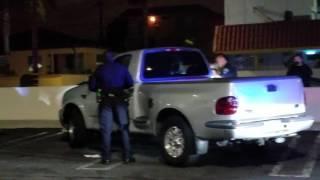 LA police do traffic stop