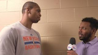 Lance Thomas Sixers Camps Interview
