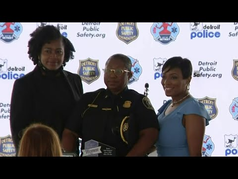Detroit authorities honor female officers, firefighters, EMS workers