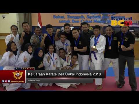 Kejuaraan Karate Bea Cukai Indonesia 2018