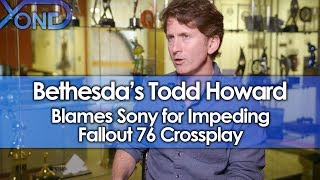 Bethesda's Todd Howard Blames Sony for Impeding Fallout 76 Crossplay