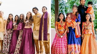 Family Photo Shoot Dress Ideas || Matching Outfit Designs For Family Weddings