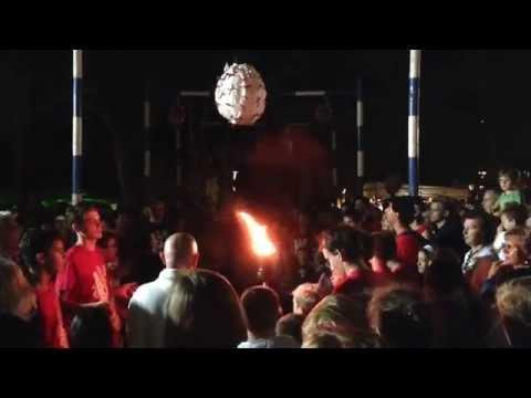 Sant'Eusebio: l'accensione del pallone