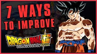 Improving Dragon Ball Super