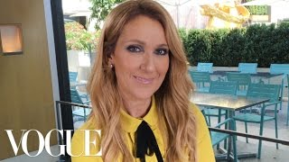 Céline Dion on Her Titanic Sweatshirt and 5 More Surprising Choices   Vogue