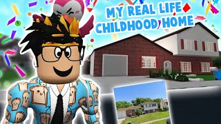 i built my IRL childhood house from memory in bloxburg... I don't remember
