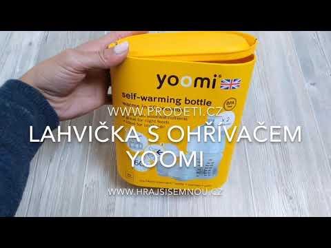 Video v článku Recenze: Kojenecká láhev s ohřívačem YOOMI