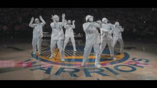 Jabbawockeez Perform Mistah FAB Song Mixed By The Legion At The NBA Finals
