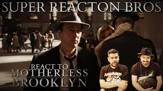 SRB Reacts to MOTHERLESS BROOKLYN - Official Trailer